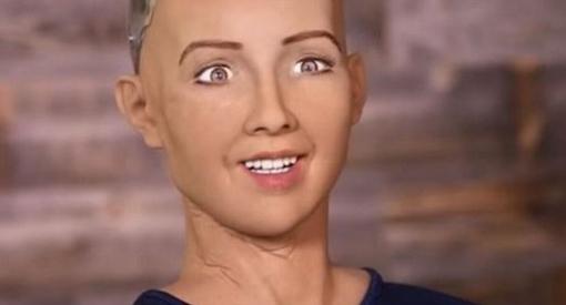 Etik og kunstig intelligens - Sophia
